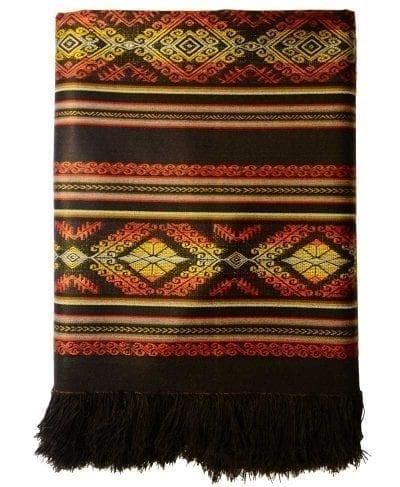 tablecloth ecuador brown