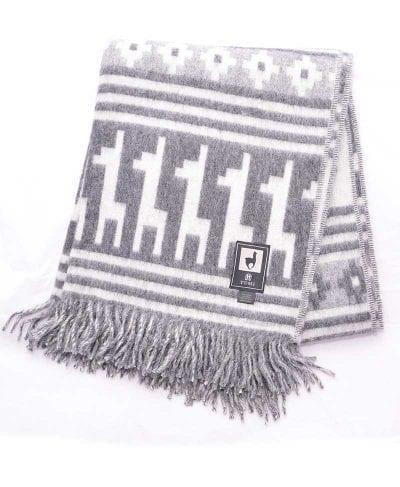 couverture de laine d'alpaga