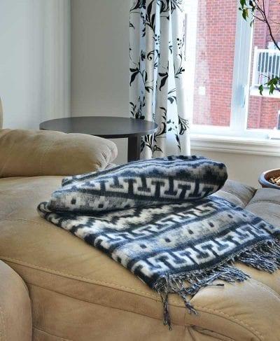 couverture alpaga maison