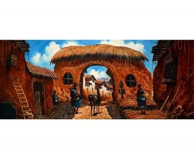 peinture cuzco pérou