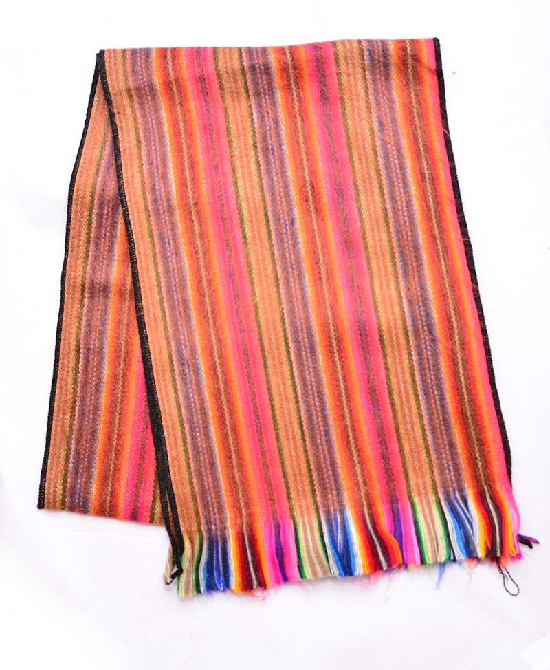 meilleur prix belle couleur nouveau authentique Foulard d'alpaga Équateur - Moyen-format