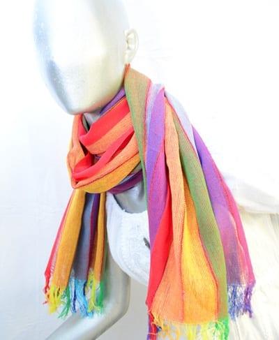 andean scarf multicolor