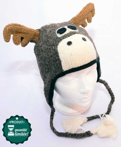 animal hat moose