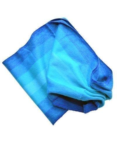 Foulard alpaga bleu éternité