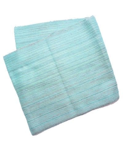 Foulard alpaga éternité turquoise