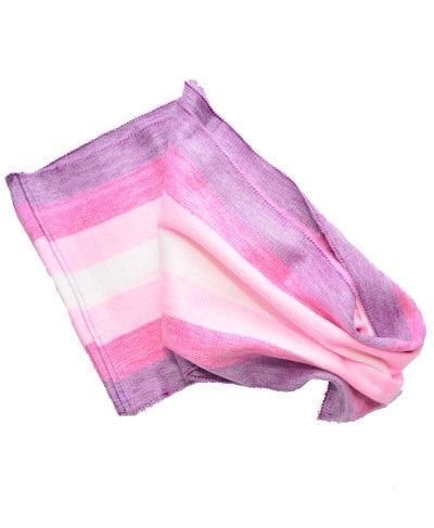 Foulard alpaga éternité violet rose
