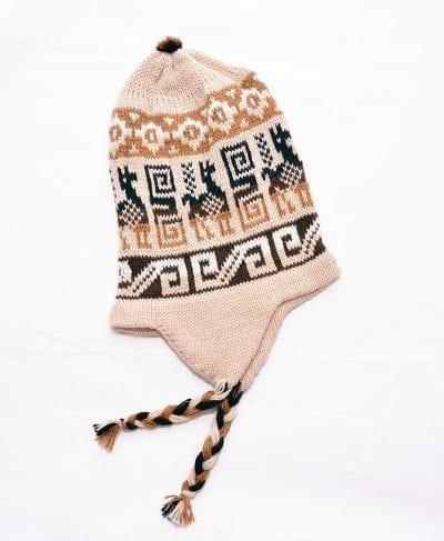 Tuque Pérou beige