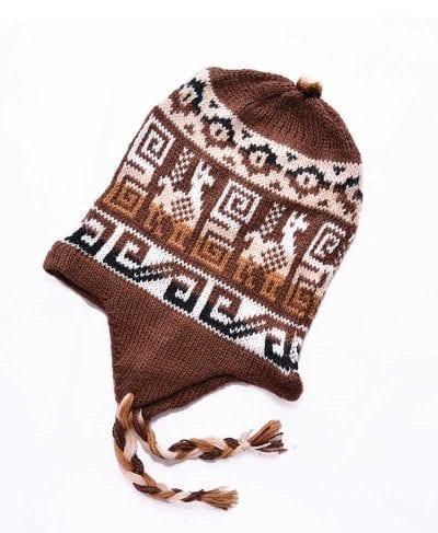 Tuque Pérou brun
