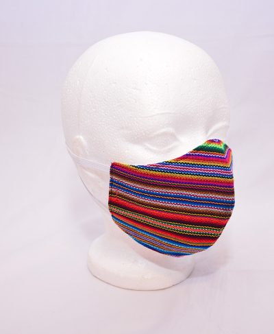 masque artisanal du Pérou